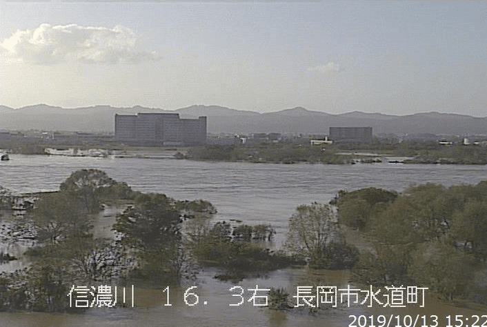 信濃 川 氾濫