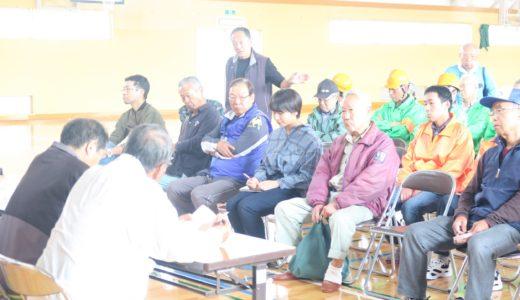 上川西小学校の避難所見学会に参加しました