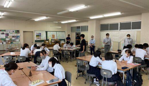 佐渡総合高校で新潟ぱるたのワークショップ